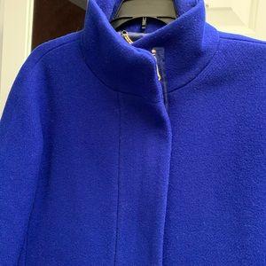 J Crew Italian Stadium Cloth Coat in rare color!